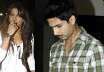 Priyanka, Shahid watch Dabangg