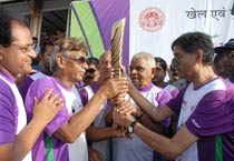 Queen's Baton Relay in Bhopal
