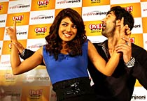 Priyanka, Ranbir at Oye! launch