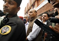Rajnath Singh visits LNGP hospital