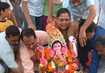 Bhopal bids adieu to Lord Ganesha