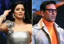 Sridevi, Akshay walk for Neeta Lulla at Lakme Fashion Week