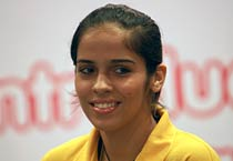 Saina Nehwal promotes Fortune Plus