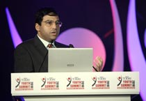 Vishwanathan Anand at IT Youth Summit 2010