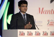Sourav Ganguly at IT Youth Summit 2010