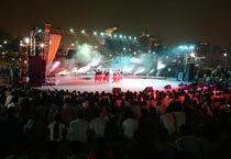 Youth Festival in Central Park, Delhi