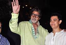 Big B celebrates birthday with Bollywood stars