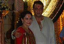 Mata ki Chowki at Sanjay Dutt's home
