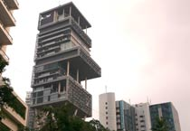 Mukesh Ambani's house- Antilia