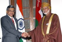 India, Oman hold talks to boost bilateral ties