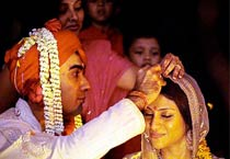Karva chauth for newly weds