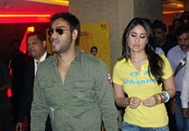 Ajay, Kareena promote Golmaal