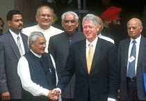Bill Clinton's visit to India