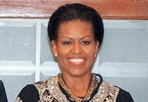 First Lady's power dressing