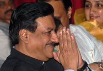Prithviraj Chavan sworn in as Maharashtra CM