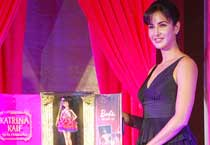 Katrina Kaif @ launch of new Barbie Doll