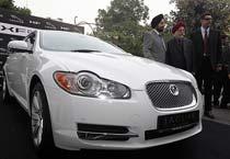 Jaguar FX hits Indian tarmac