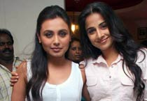 Friends forever: Rani and Vidya