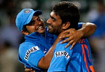 India beat South Africa by a run in second ODI
