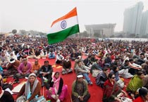 Protests against corruption across India