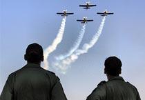 Flying machines at Aero India show