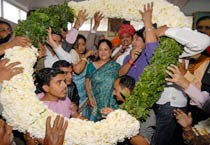 Rajasthan: Raje elected BJP legislature