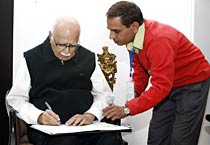 Census at Advani's residence