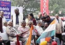 Delhi: Trade unions organise March Parliament