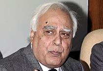 Sibal, Nilkani at a joint Press Conference