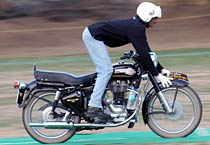 Royal Enfield rally in Ajmer