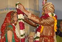 Pushkar: Spanish couple marry in style