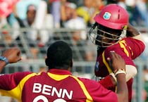 West Indies beat Bangladesh by 9 wickets
