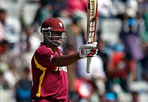 West Indies beat Ireland by 44 runs