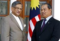 Malaysian Deputy PM arrives India
