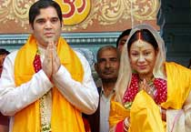 Varun Gandhi's wedding album