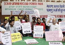 Nuclear disaster: Protest against killing of youth