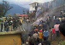 Helicopter crashes in Tawang