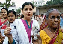 First phase of West Bengal elections