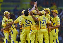 Chennai beat Kolkata by 2 runs