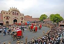Jaipur celebrates Gangaur festival