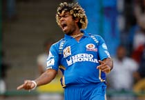 Malinga's fiver helps Mumbai beat Delhi by 8 wickets