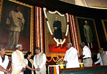 Leaders pay tribute to B.R. Ambedkar