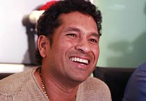 Sachin Tendulkar signs first IPL theatre ticket
