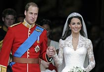 Prince William weds Kate