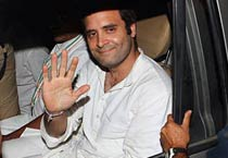 UP farmers stir: Rahul Gandhi arrested; freed on bail