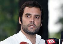 Land stir: Rahul criticises UP govt