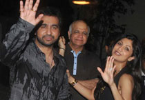Shilpa Shetty's bash for Rajasthan Royals