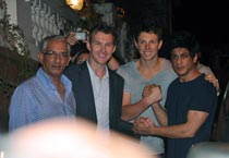 SRK hosts bash for Kolkata Knight Riders
