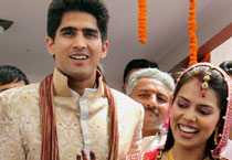 Vijender Singh marriage pics