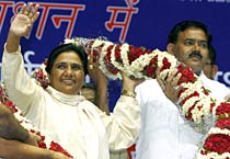 Mayawati's BSP gears up for UP polls 2012